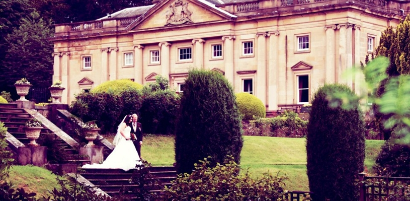 Wortley hall shortlisted for best wedding venue in the for Top wedding venues in new england