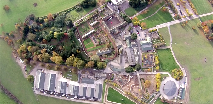 Cannon Hall from the sky - Photo credit Outrageous Eye